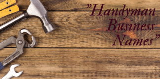 70+ Catchy Handyman Business Names