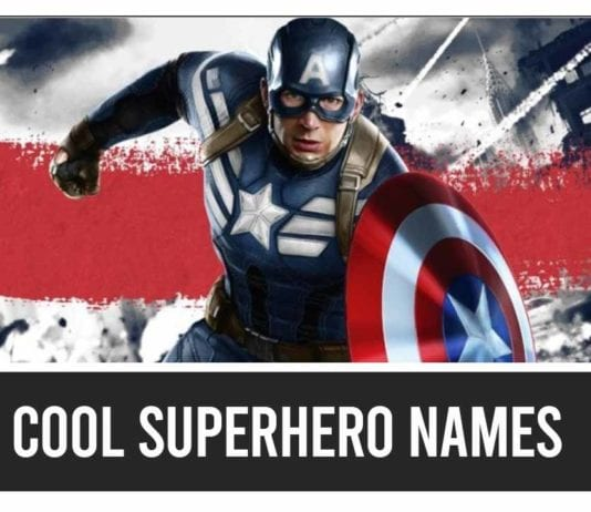 Cool Superhero Team Names