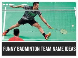 Funny-Badminton-Team-Name-Ideas