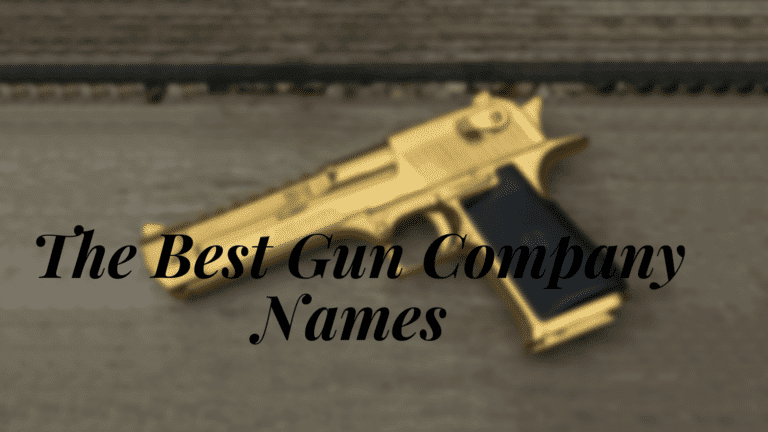 The Best Gun Company Names