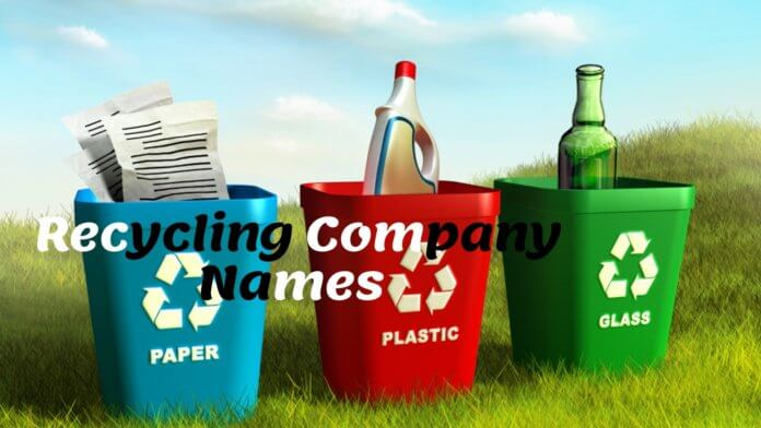 Recycling Companies Names