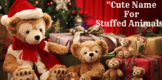 Cute Names For Stuffed Animals
