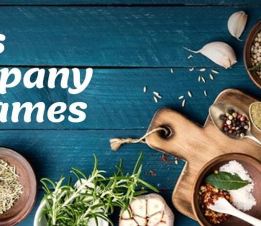Spices Company Name Ideas & Suggestions